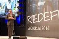 Keynote IT Redefine von Adrian McDonald, President EMEA, EMC Corporation.