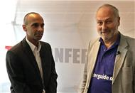 Video-Interview mit Bijan Taleghani (li.), Leiter Produkt Marketing und Business Development beim Value-Added-Distributor TIM (Bild: speicherguide.de)
