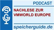 speicherguide.de-Podcast zur Vmworld Europe