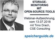 Webinar-Aufzeichnung: Storage-Performance-Monitoring mit Open-Source-Tools