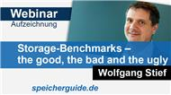 Webinar-Aufzeichnung vom 14.02.2019: Storage-Benchmarks – the good, the bad and the ugly