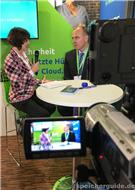 Claudia Hesse im Video-Interview mit Mark Hickman, Winmagic