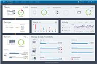 Dashboard von »IBM Spectrum Protect« (Bild: IBM)