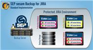 Standard-Implementation der Backup-Lösung »SEP sesam« in JIRA (Bild: SEP)