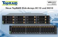 Neue »TopRAID M-Serie«-Storage-Arrays sind Vmware-ready (Bild: Starline)