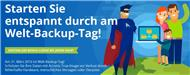 Sonderaktion zum »World Backup Day 2016« (Bild: Acronis)