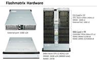 Die Hardware des 2U hohen All-Flash-Superkonvergenz-Systems »Flashmatrix« (Bild: Toshiba)