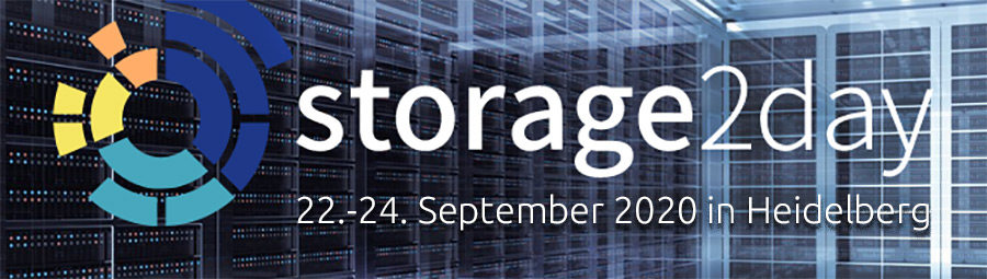 Storage2Day nun im September, Oktober und November als Online-Kongress