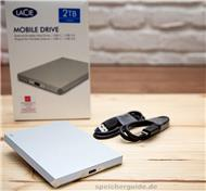 Lacie Mobile Drive Moon Silver 2TB – USB-C-HDD im Test