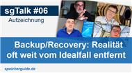 sgTalk #06: Backup & Data-Protection, was geht ab?